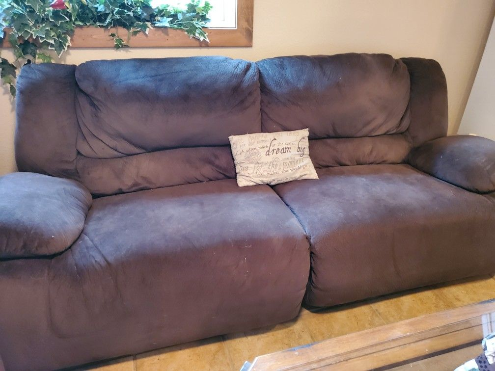 Couch And Oversized Electric Chair Only