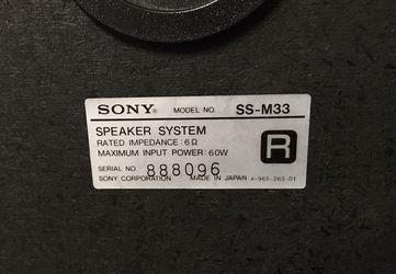 Marantz /Sony  Stereo  Thumbnail