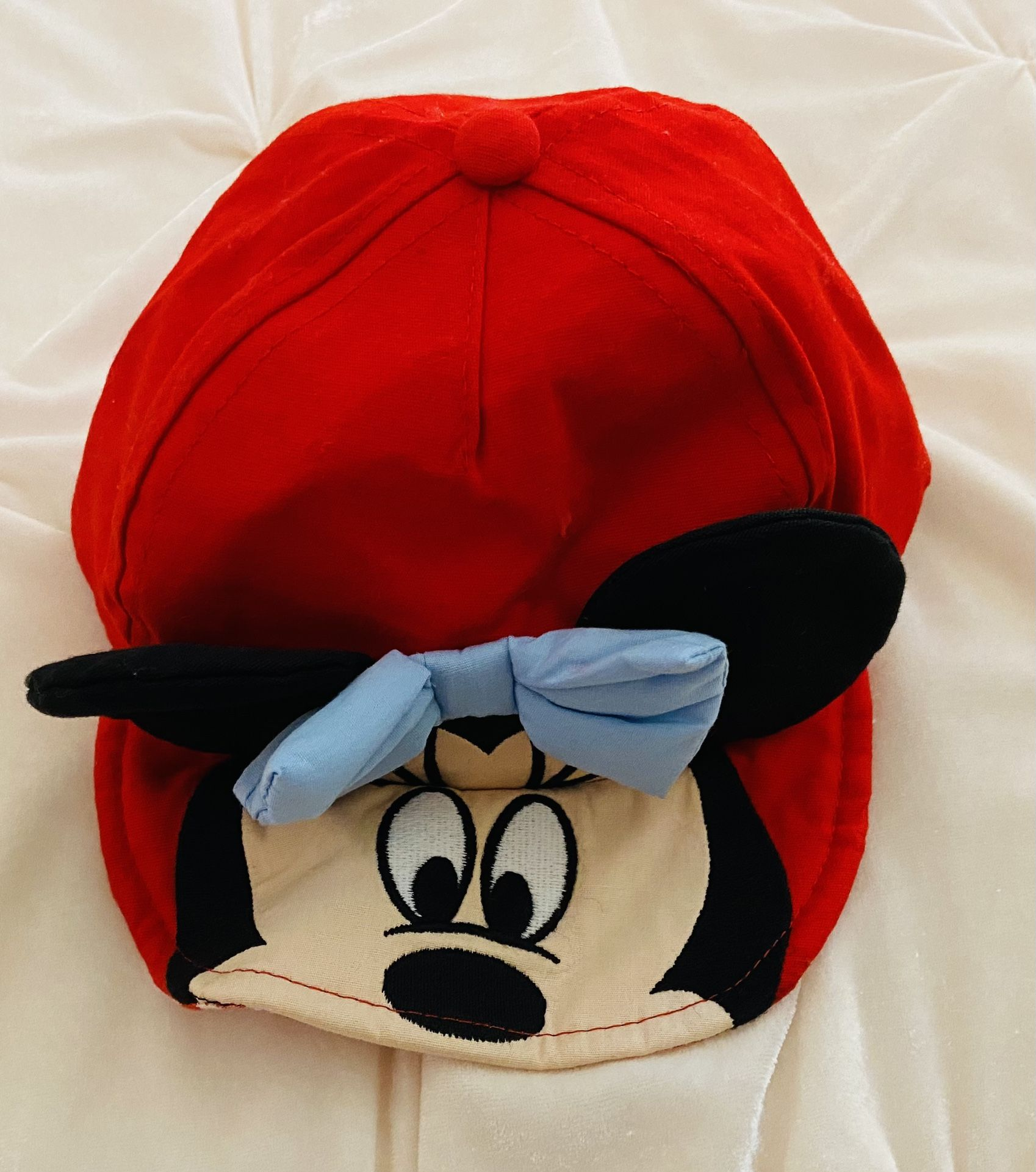 Disney Minnie Mouse Baby Hat Ears