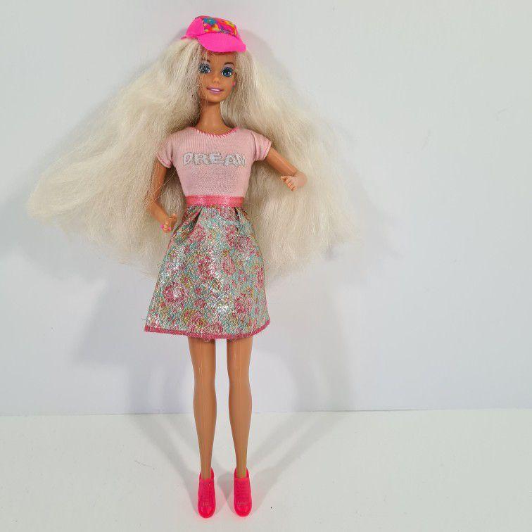 Vintage 90s Caboodles Barbie Doll Mattel