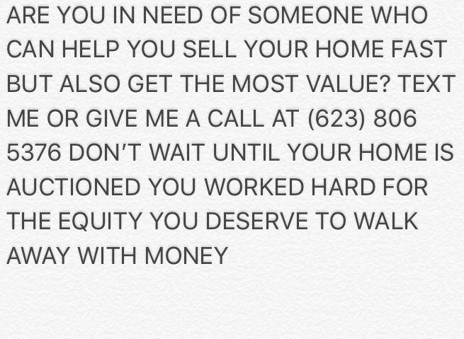 Need a realtor? Message me I close deals