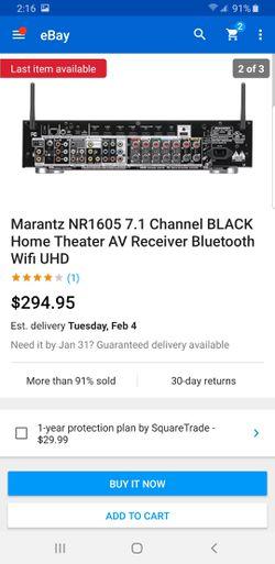 Receiver marantz Thumbnail