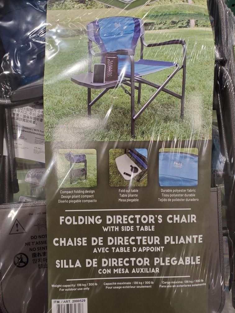 Folding Director Chair Ergo Frame