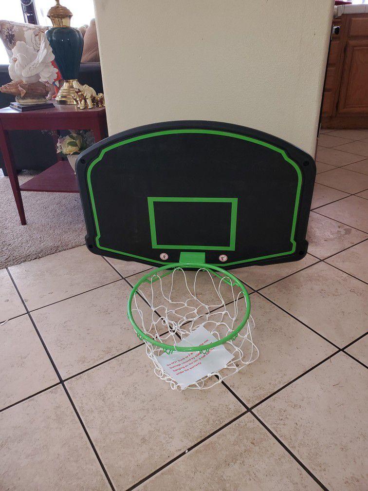 "Mini Basketball Backboard And Hoop 30""X22"""