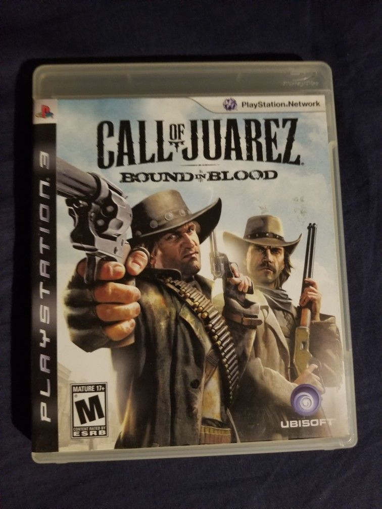 Call Of Juarez Bound In Blood For Ps3