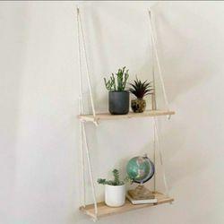 Flower Pot Tray Mounted Floating Wall Shelves Thumbnail
