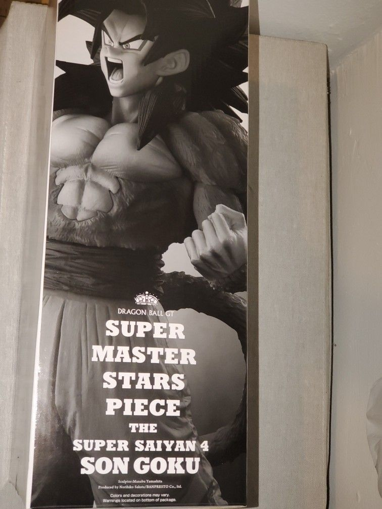 Super Master Stars Piece Ss4 The Son Goku The Tones Exclusive