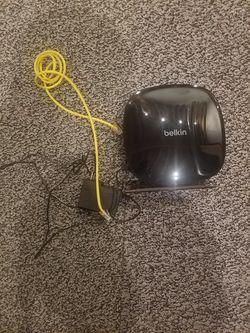 belkin router model: f9k1123v2 Thumbnail