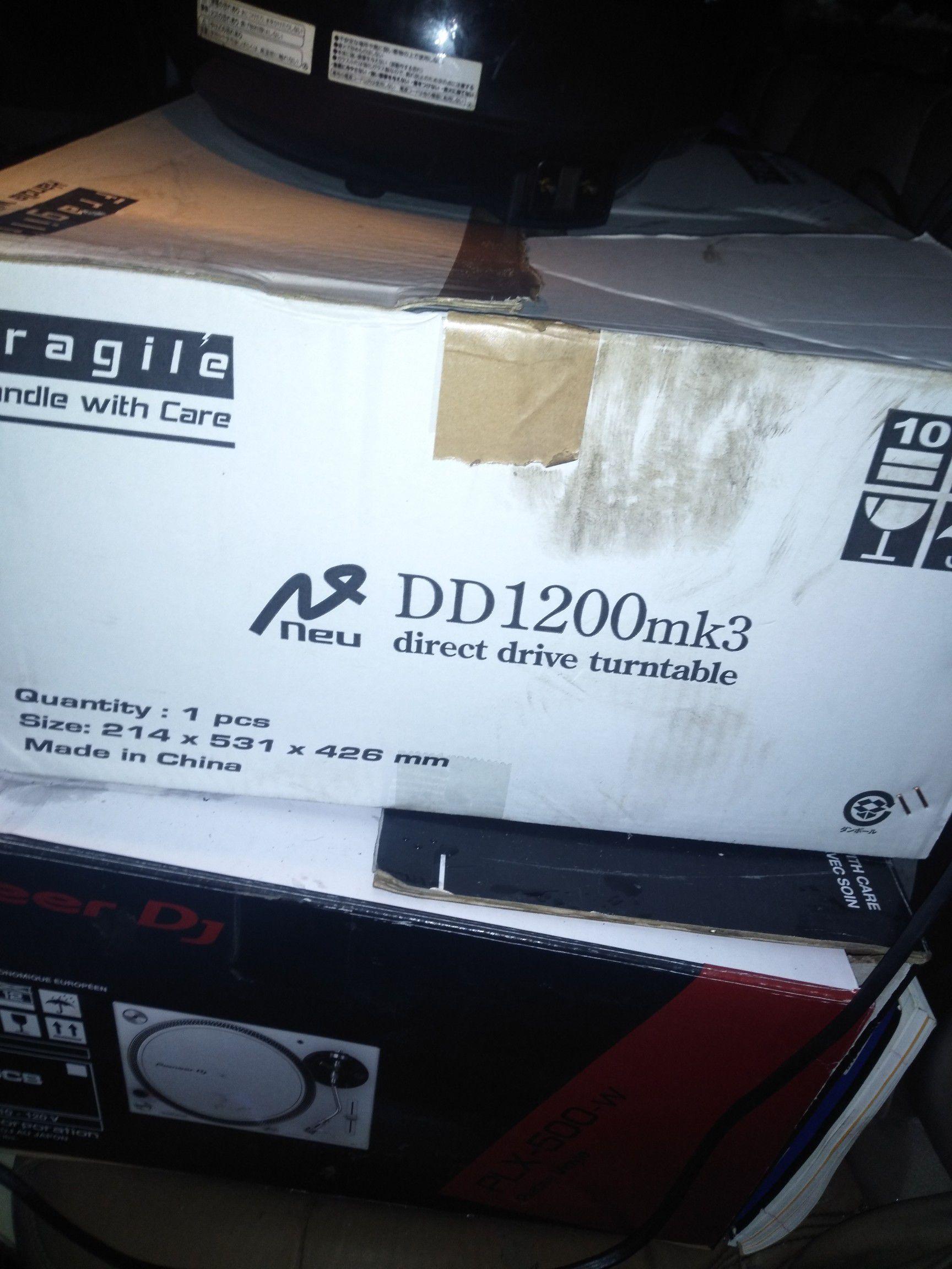 Dj equipment brand new never used