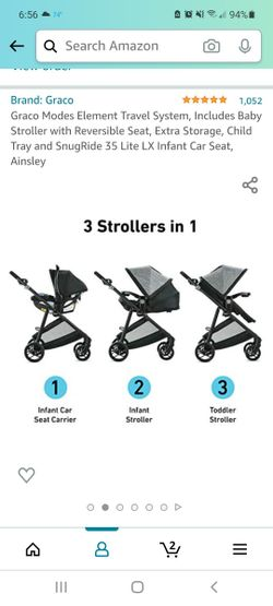 Baby Stroller With Carseat  Thumbnail
