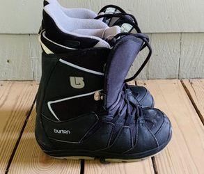 SALOMON SNOWBOARD WITH BURTON BINDINGS, BAG AND BOOTS Thumbnail