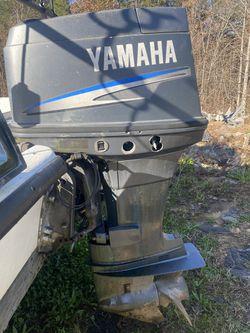 90 hp Yamaha outboard motor Thumbnail