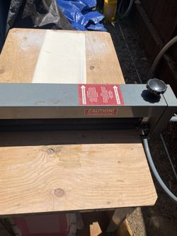 Slab Roller Bailey DRD/II 30 inch wide with table. slabs ceramics pottery art studio hand building  Thumbnail