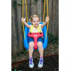 Little Tikes 2-in-1 Snug 'n Secure Swing - Blue Thumbnail