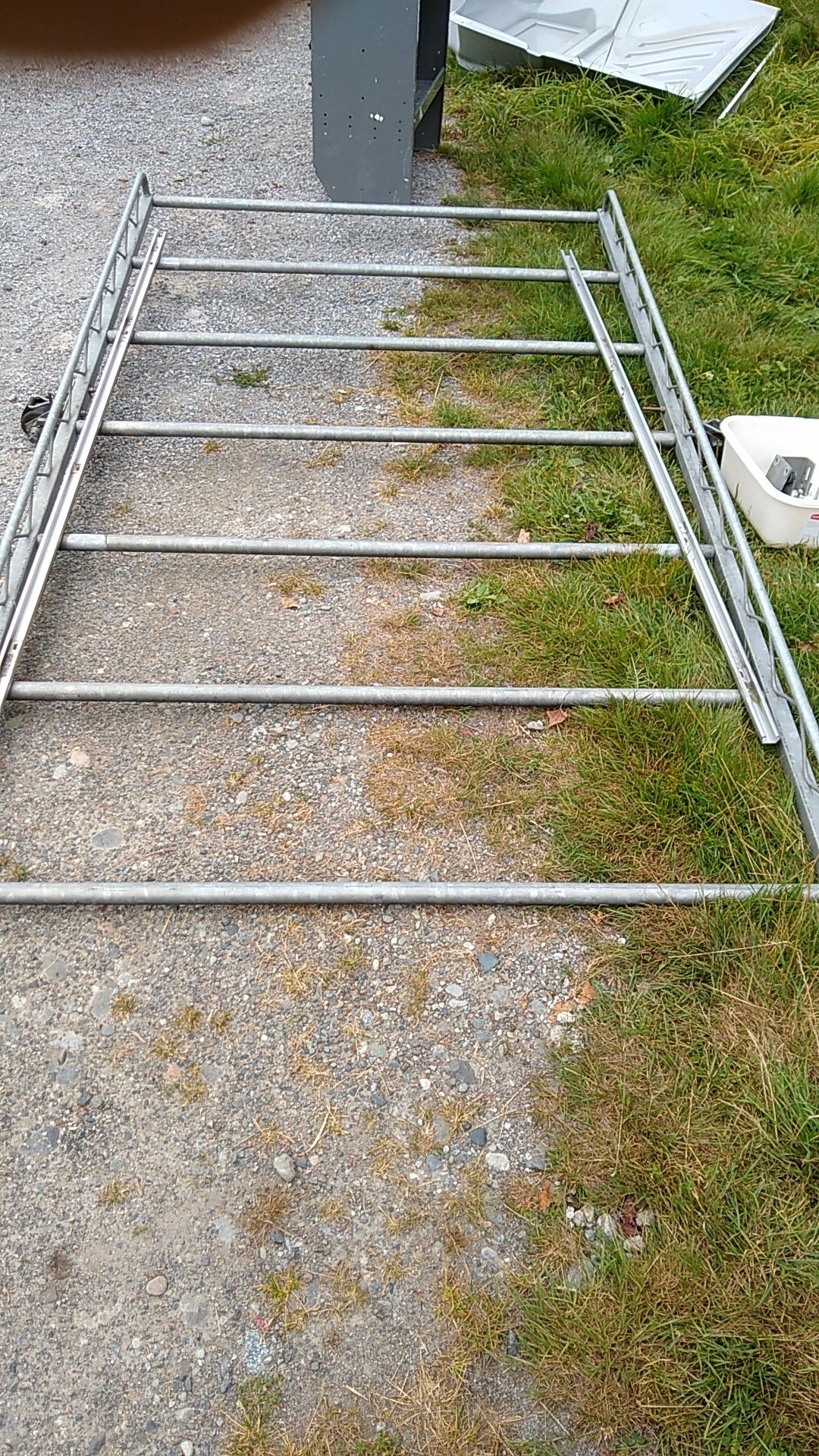 Ford Transit connect lumber and ladder rack