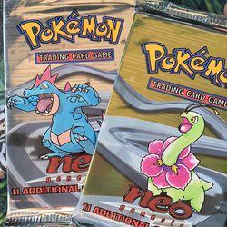Neogenesis Pokémon cards Thumbnail