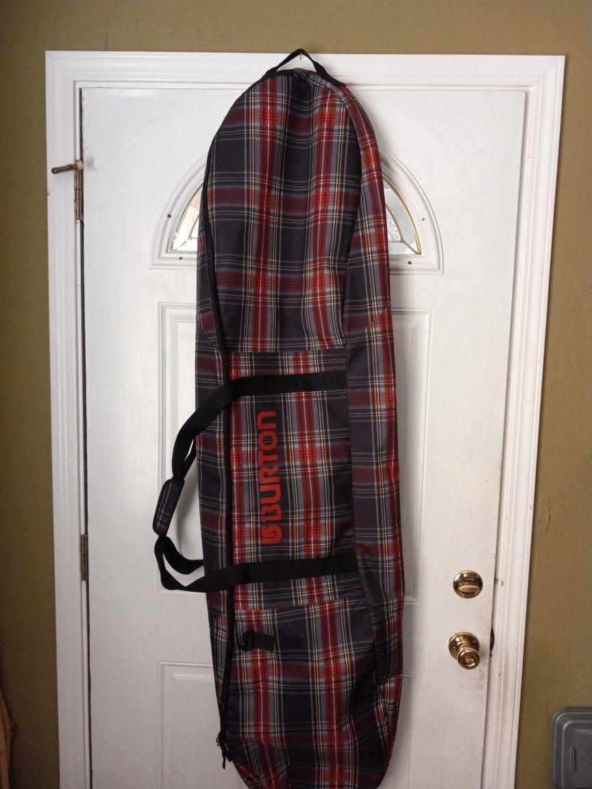 Burton Red Plaid 156cm Snowboard Bag
