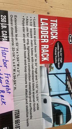 Harbor freight truck ladder rack Brand new in box. 250 lb capacity Thumbnail