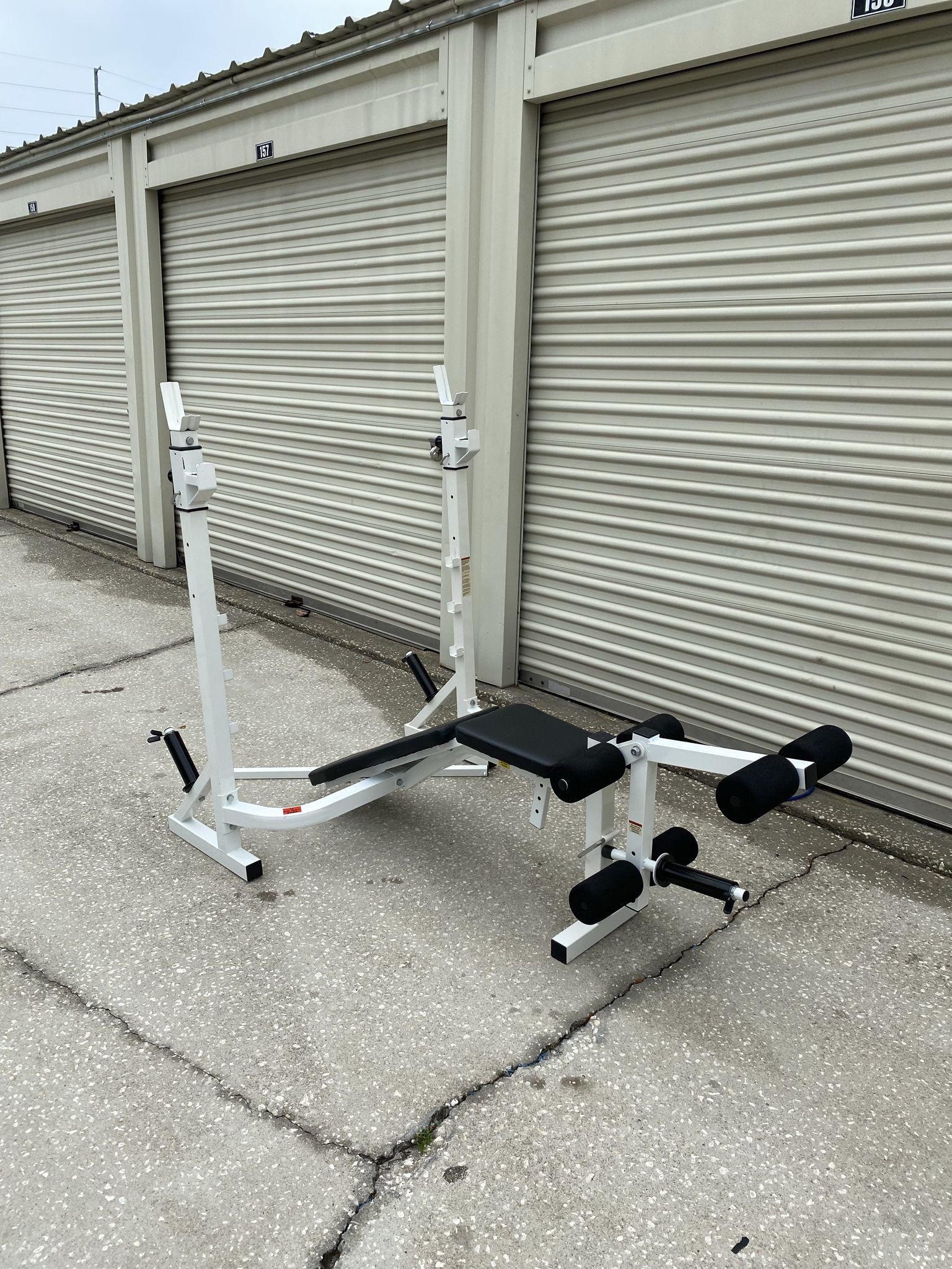 Adjustable Bench Press