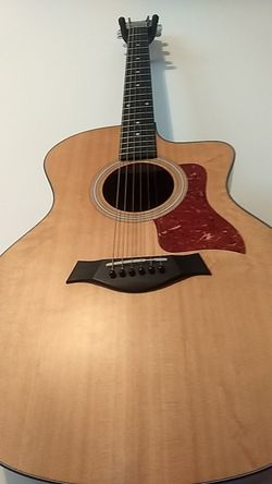 Taylor acoustic electric guitar Thumbnail