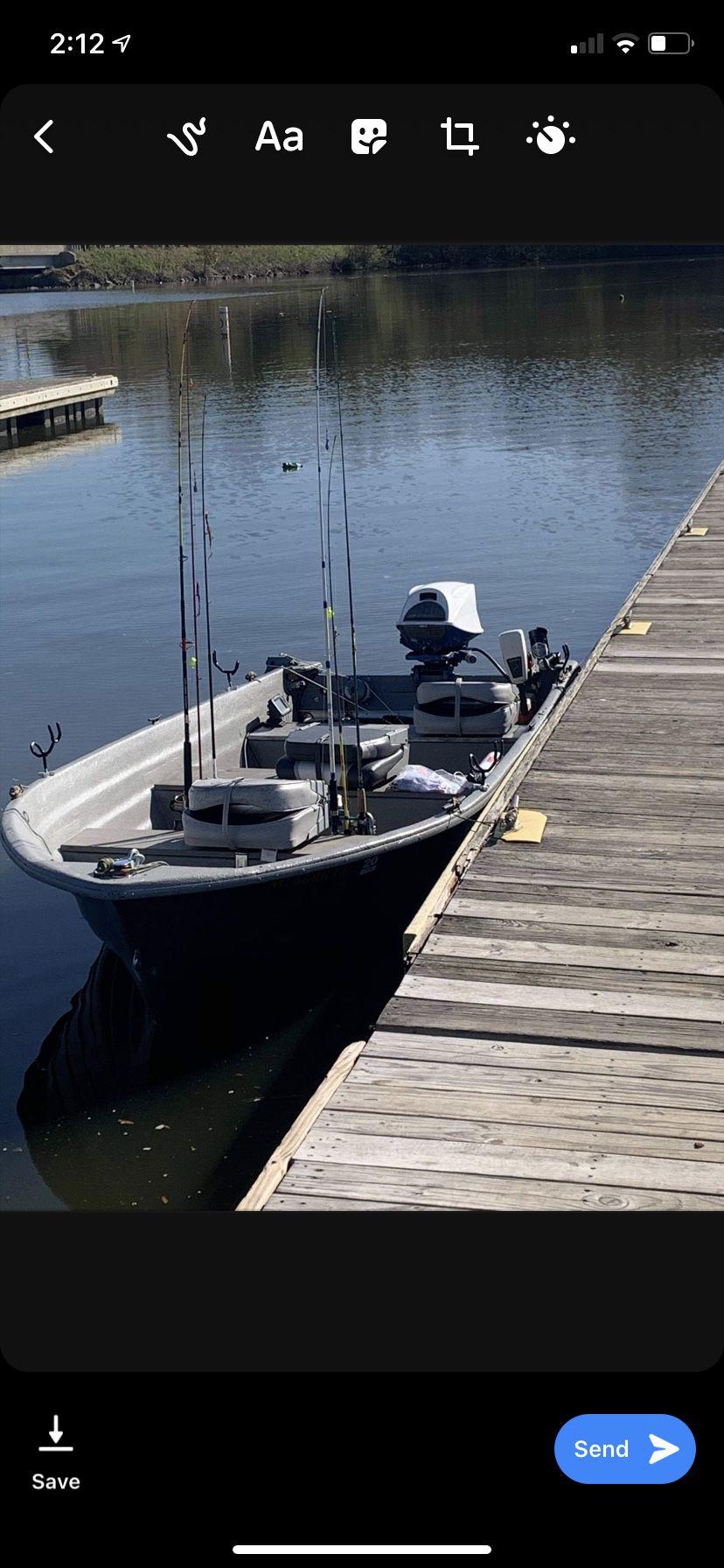14ft V-Haul John boat