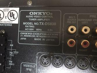 Onkyo Receiver with Bluetooth Thumbnail