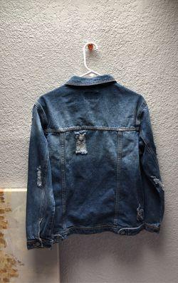 Distressed Denim Jacket Thumbnail