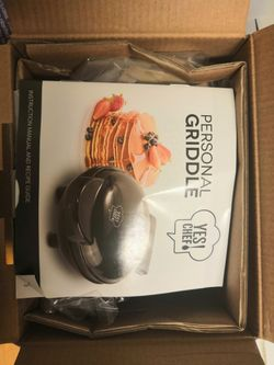 Yes Chef personal griddle - gold copper Thumbnail