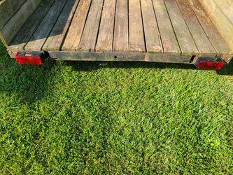 14ft Dual Axle Utility Trailer Thumbnail