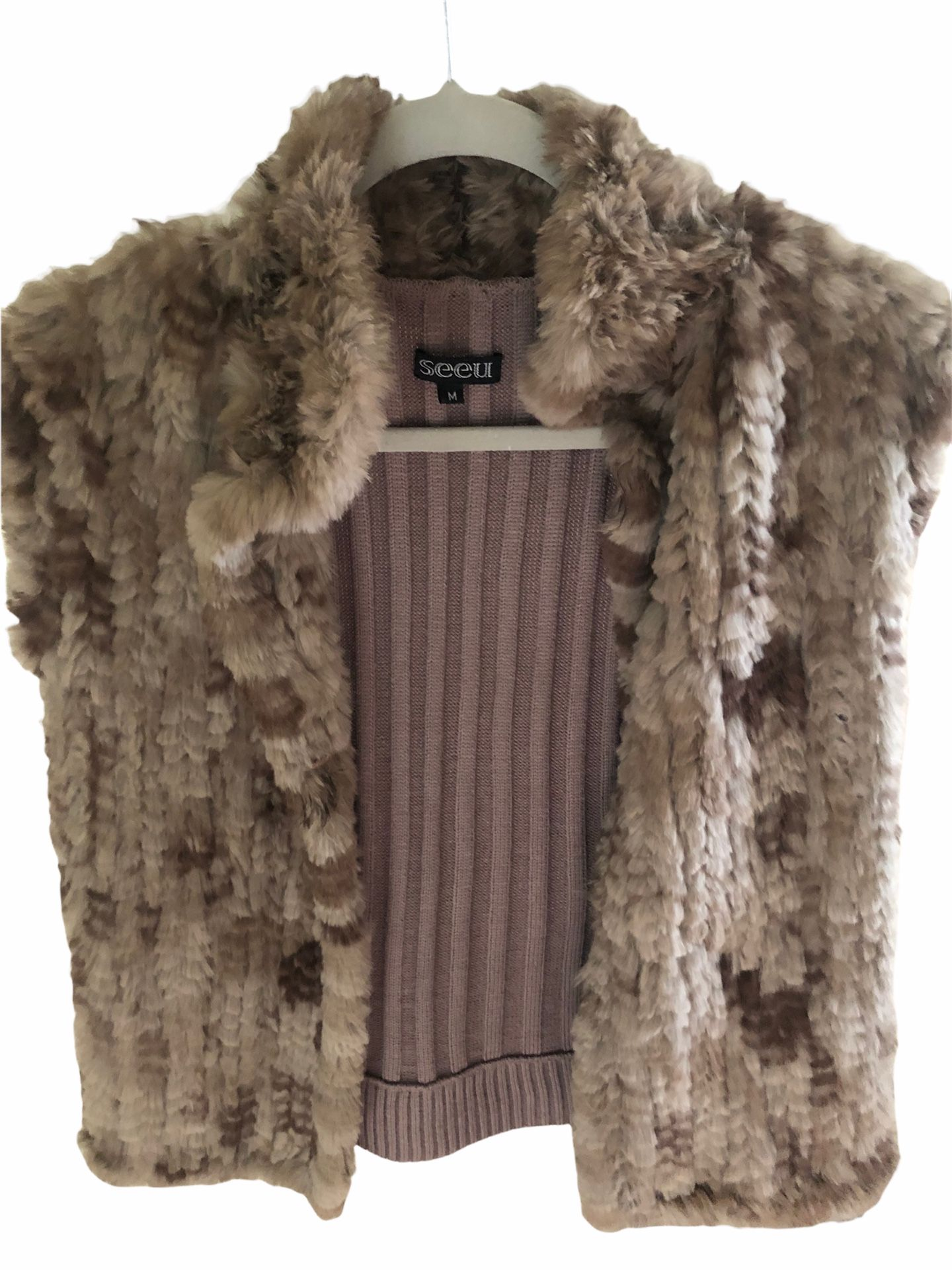 Seeu Rabbit Fur Vest