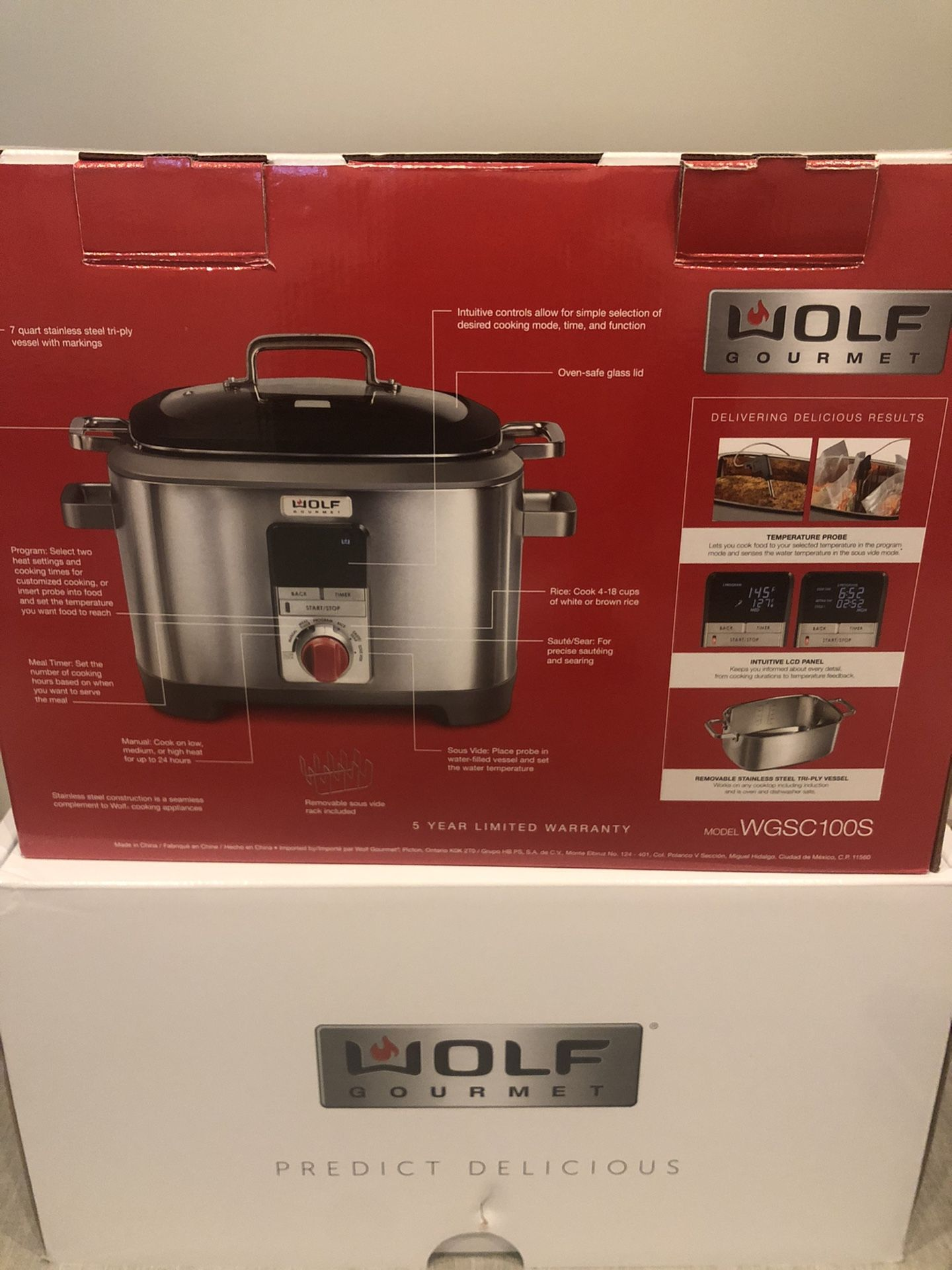 Wolf Gourmet 7 Qt. Multi-Function Cooker