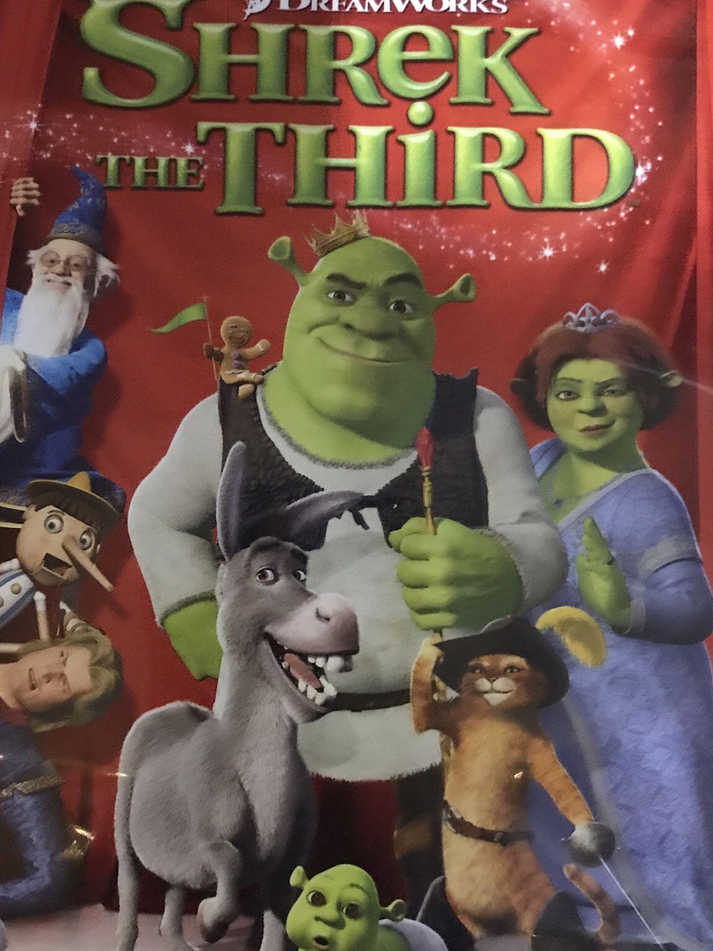 Shrek The Third Dvd Movie