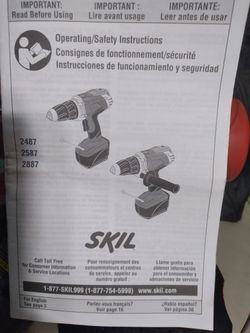 SKIL X DRIVE 18VOLT DRILL & FLASHLIGHT Combo Thumbnail