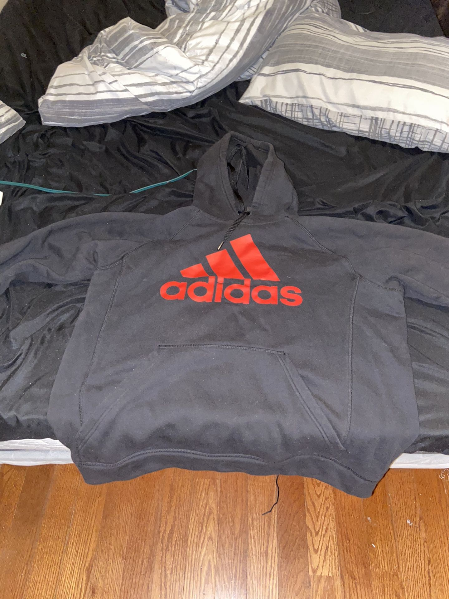 Adidas Adult Medium Sized Hoodie