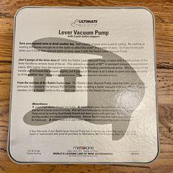 Ultimate Rabbit Lever Vacuum Pump Thumbnail