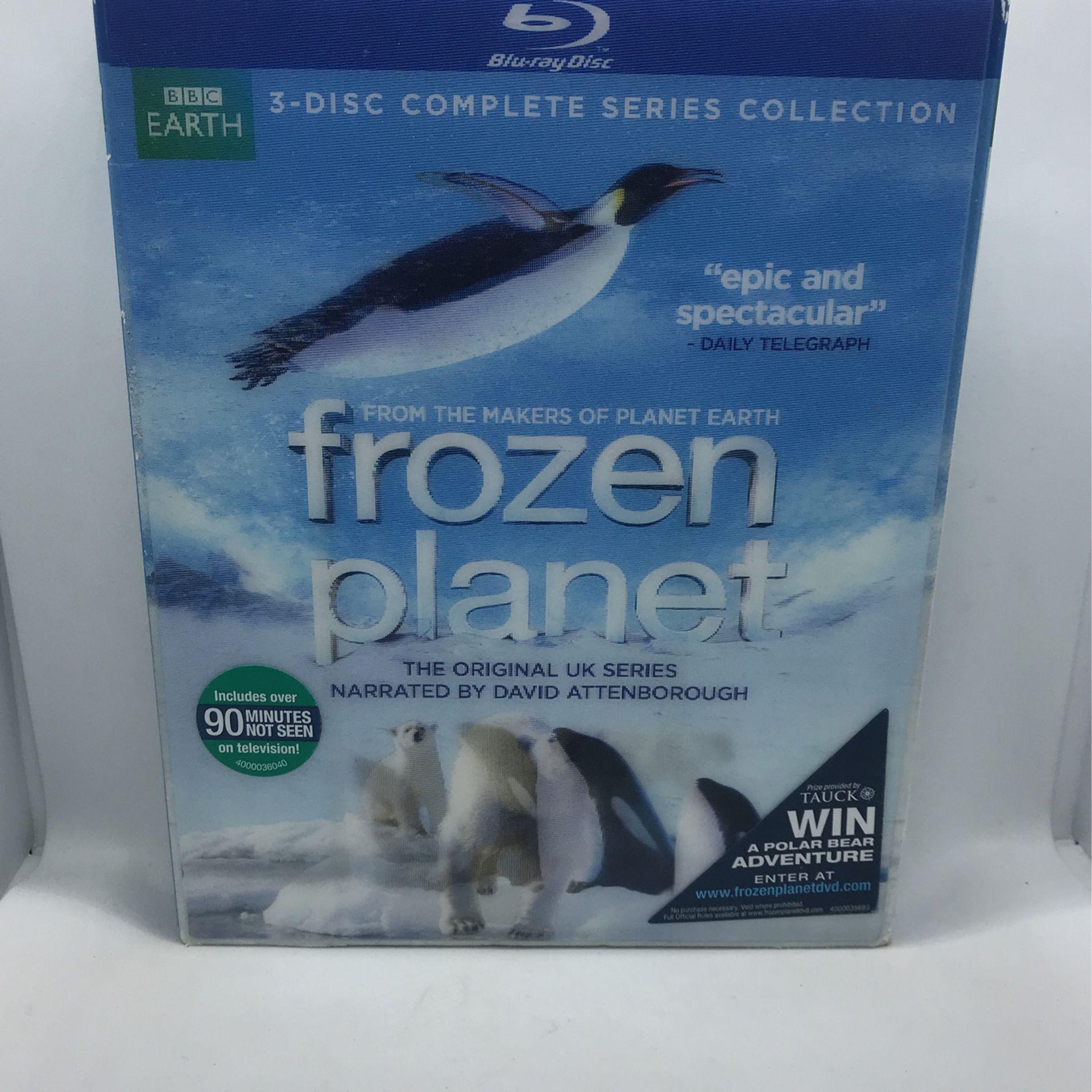 BBC Earth Frozen Planet Blu-ray Set New