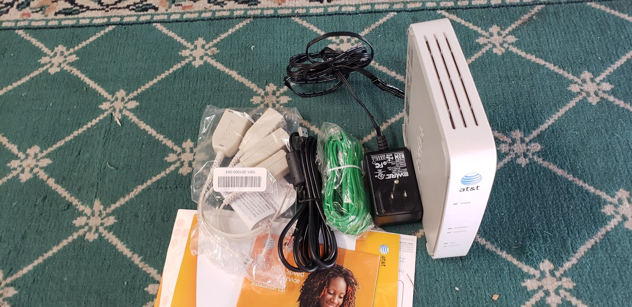 AT&T 2701HG-B 2Wire Wireless Gateway DSL Router Modem