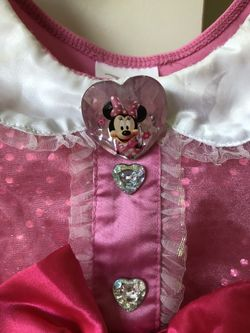 Disney Minnie Mouse costume dress with ears Thumbnail