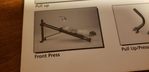 Exercise Equipment  Total Gym. This Is One Of The First Total Gym  sold.  1995 Brought  Thumbnail