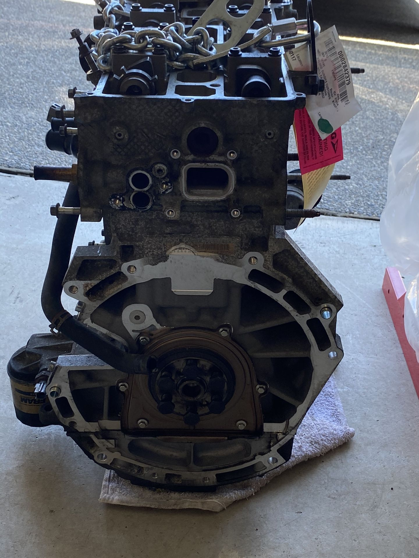 Ford 2.5l engine