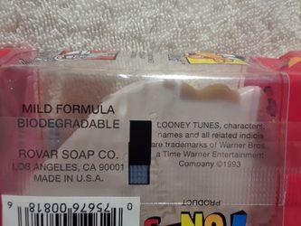 Vintage Looney tunes moisture bath soap Thumbnail