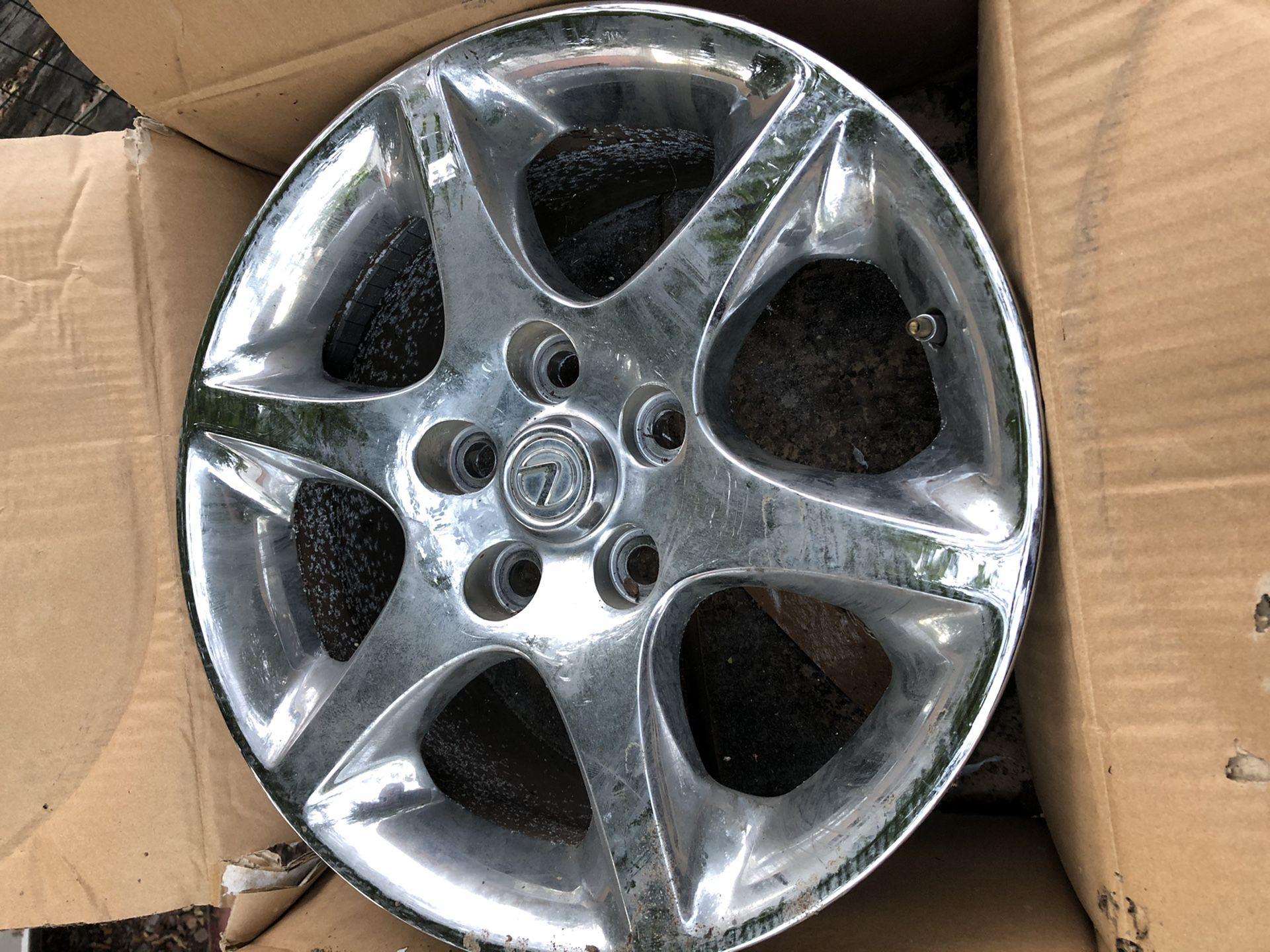 Wheels (rims) set of 4 off a 2004 Lexus GS300