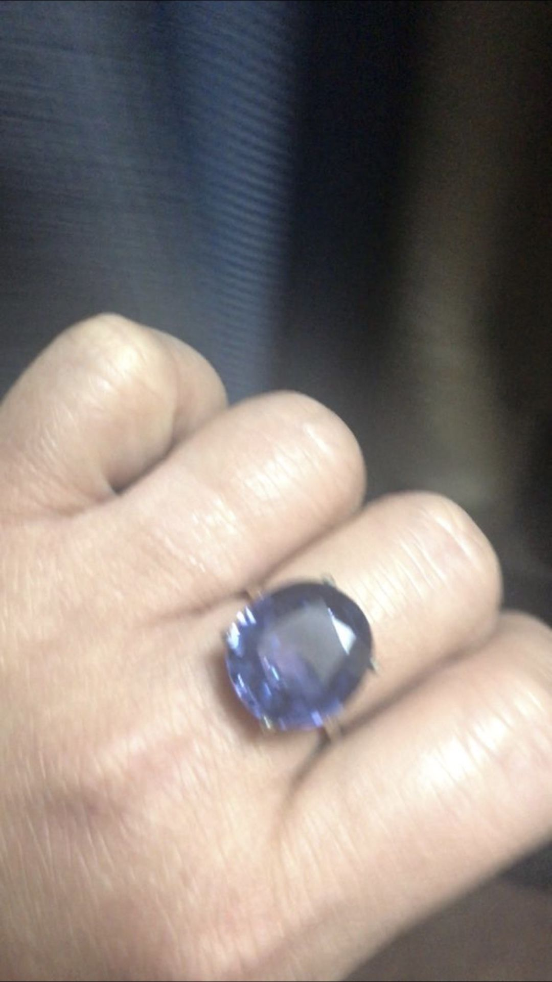 Alexandrite Stone Ring / Changing Colors Size 7