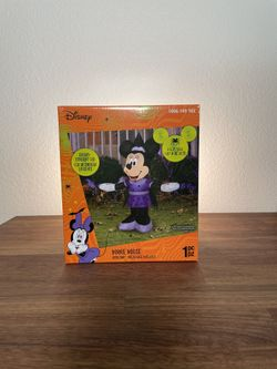 NEW Disney Minnie Mouse Airblown Inflatable Halloween Decoration Thumbnail