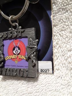 Vintage Looney tunes best friends keyring  Thumbnail