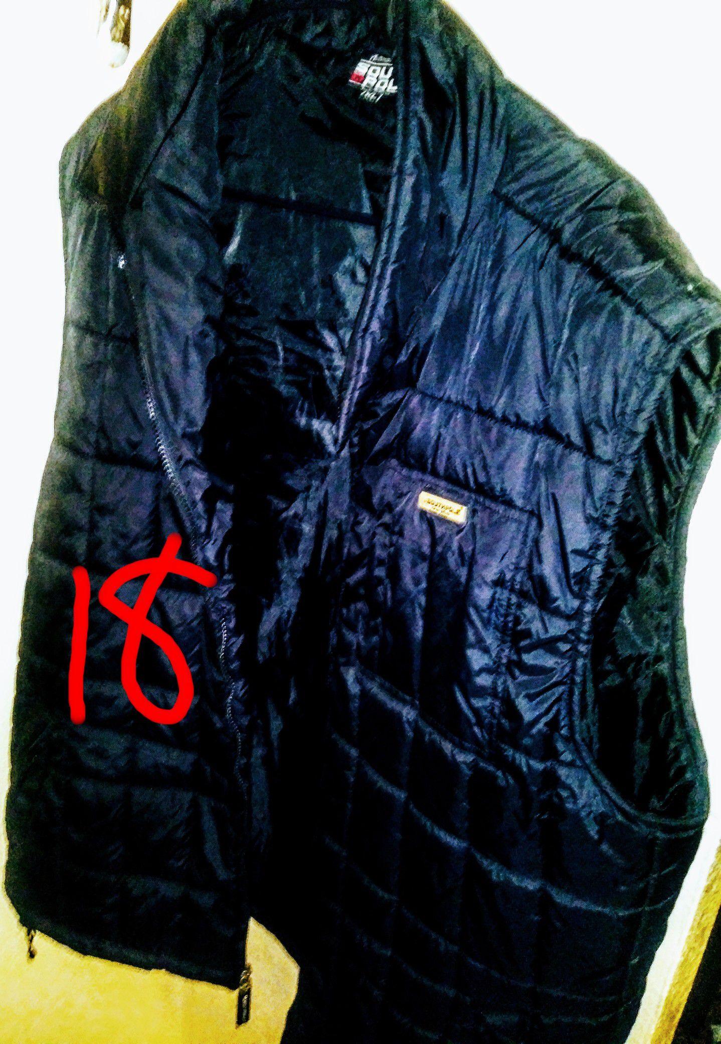 Extra large men's South Pole black vest