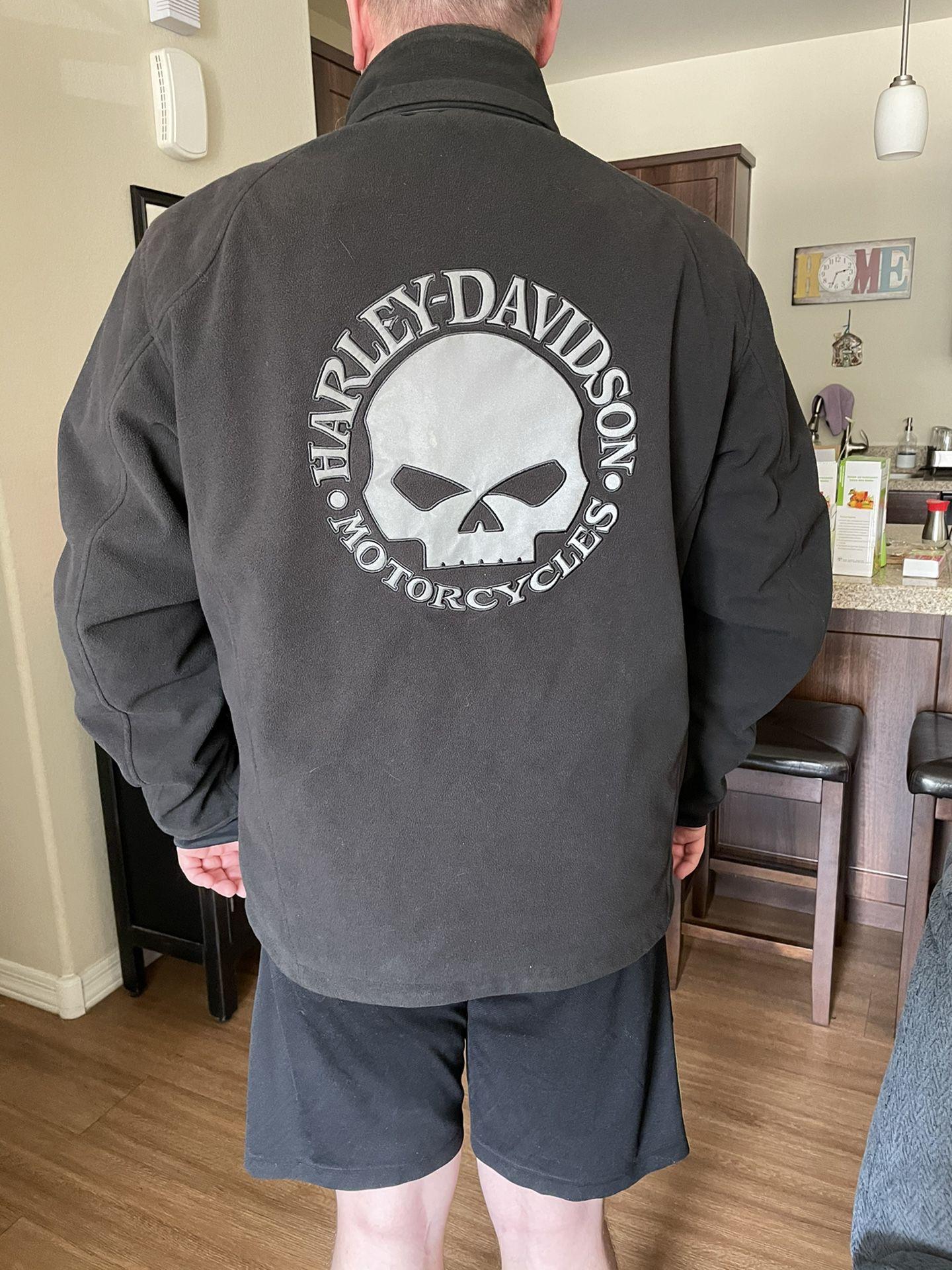 Motorcycle jacket men's Harley Davidson