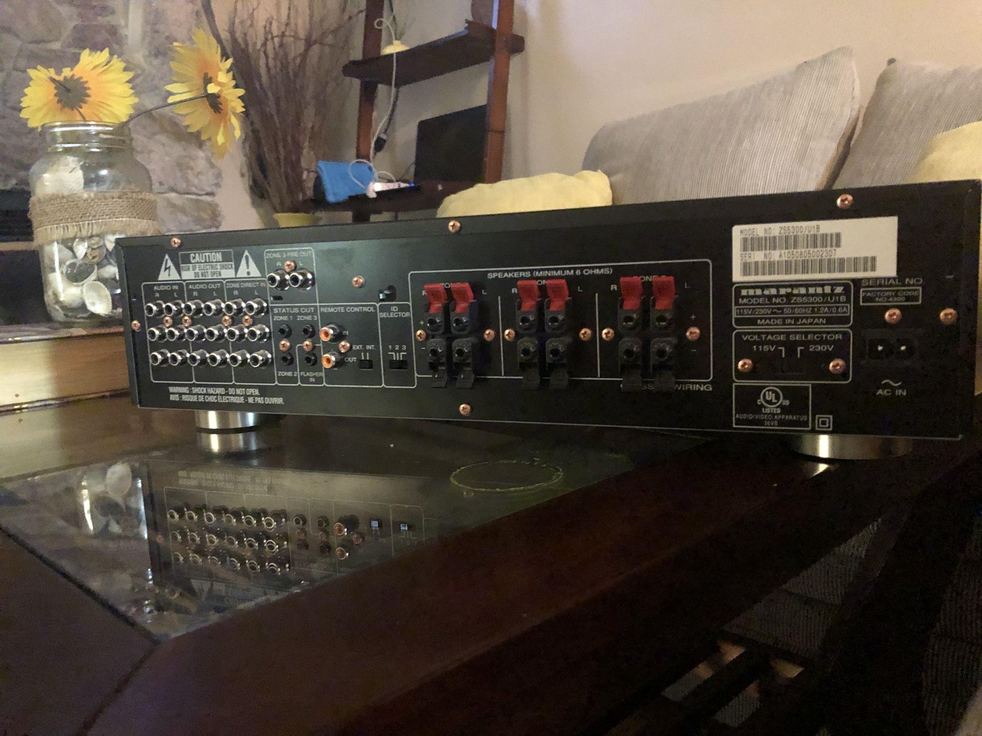Marantz receiver model Zs5300