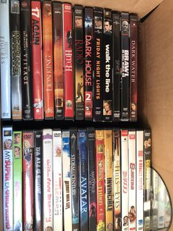 BOXES OF DVDS ADULT AND SOME CHILDRENS  Thumbnail