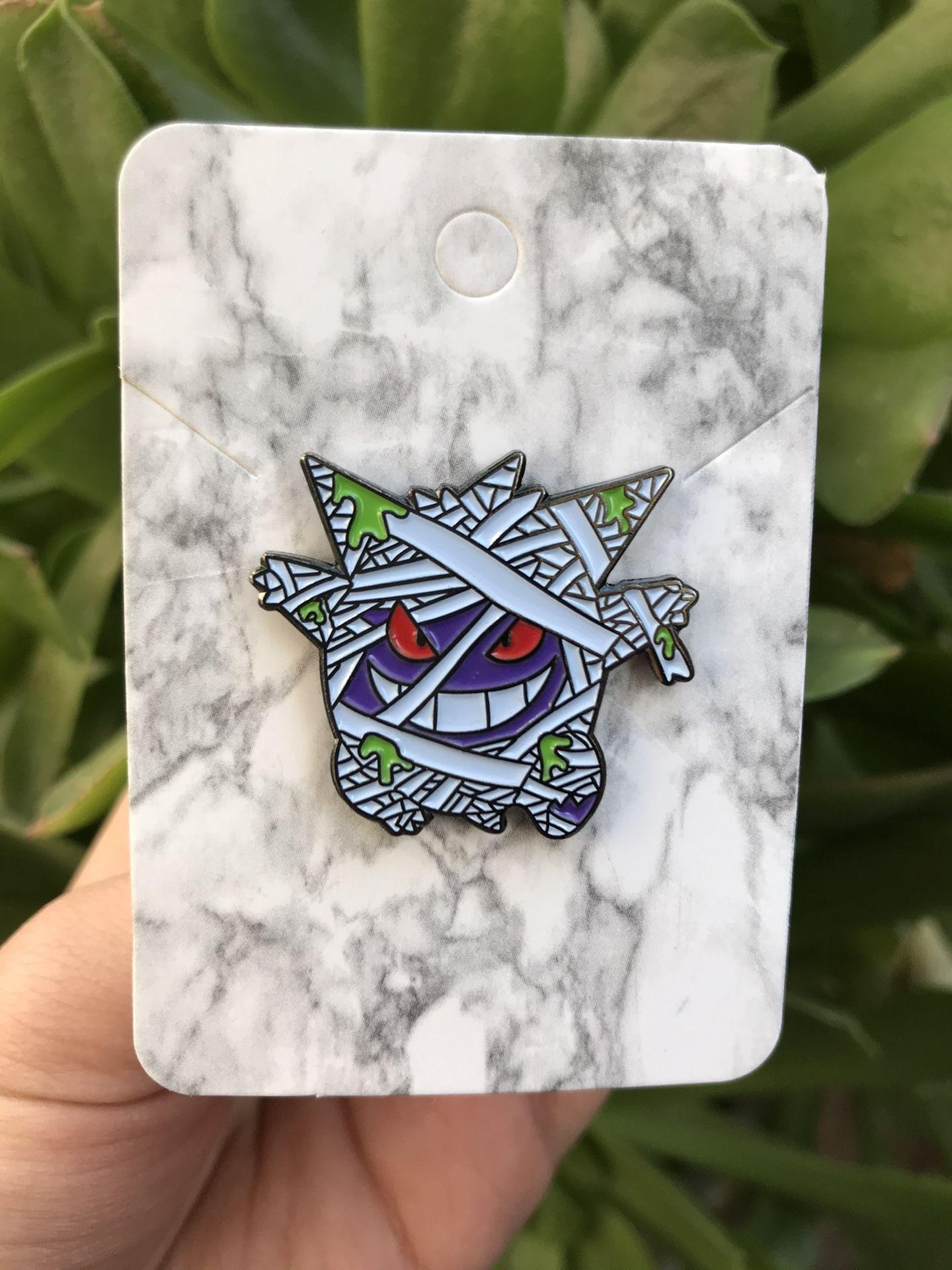 Gengar Mummy Pokemon Pin